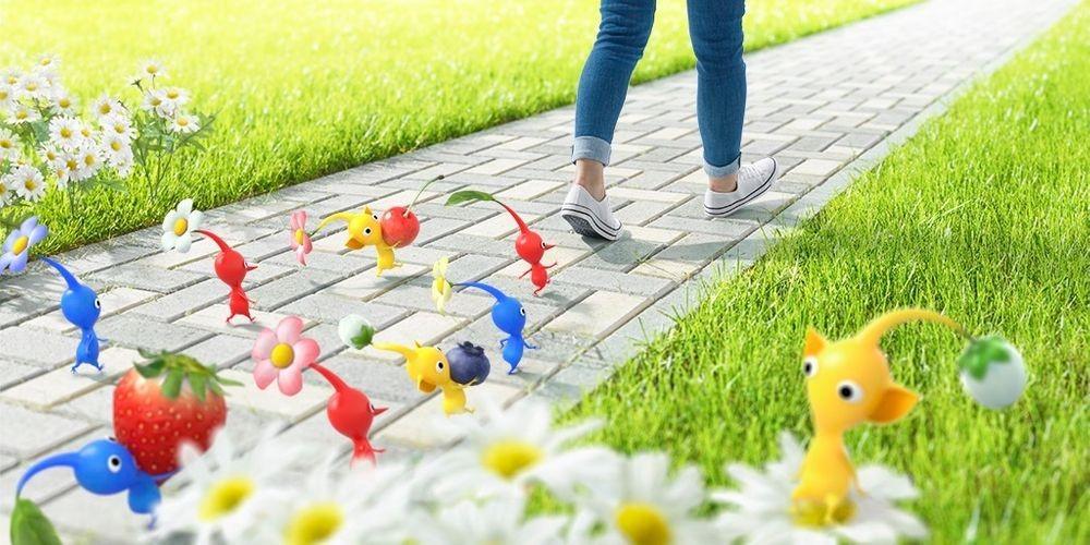 """Làm cho việc đi bộ trở nên thú vị! Niantic × Nintendo sẽ cùng phát triển điện thoại di động mới """"Pikmin"""""""