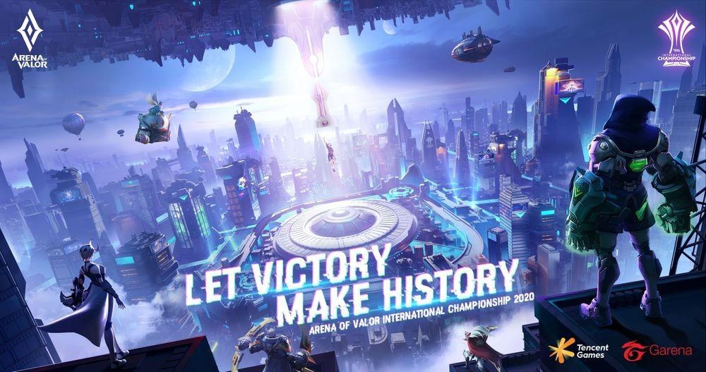 Cuộc thi quốc tế AIC 2020 Garena Liên Quân được chọn là một trong những sự kiện Esports trực tiếp lớn nhất thế giới