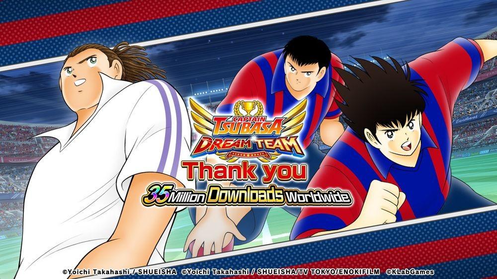 Captain Tsubasa: Dream Team đã tổ chức sự kiện kỷ niệm đột phá 35 triệu lượt tải xuống
